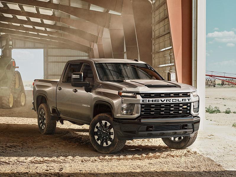 Auburn Chevrolet Trucks Outdoors